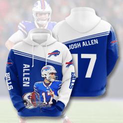 NFL Buffalo Bills 3D Hoodie V5