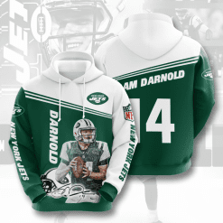 NFL New York Jets 3D Hoodie V5