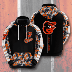 MLB Baltimore Orioles 3D Hoodie V5
