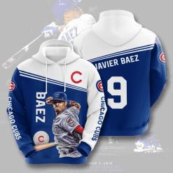MLB Chicago Cubs 3D Hoodie V5