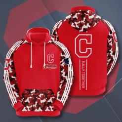 MLB Cleveland Indians 3D Hoodie V5