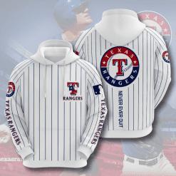 MLB Texas Rangers 3D Hoodie V5