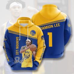 NBA Golden State Warriors 3D Hoodie V5