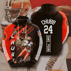 NFL Cleveland Browns 3D Hoodie V5