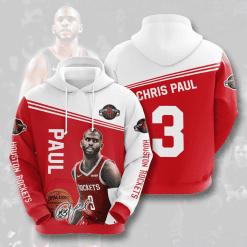 NBA Houston Rockets 3D Hoodie V5