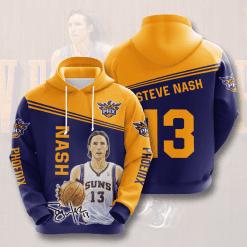 NBA Phoenix Suns 3D Hoodie V5
