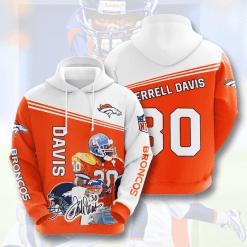 NFL Denver Broncos 3D Hoodie V5