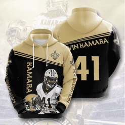 NFL New Orleans Saints 3D Hoodie V6
