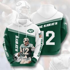 NFL New York Jets 3D Hoodie V6