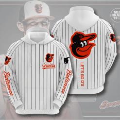 MLB Baltimore Orioles 3D Hoodie V6