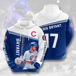 MLB Chicago Cubs 3D Hoodie V6