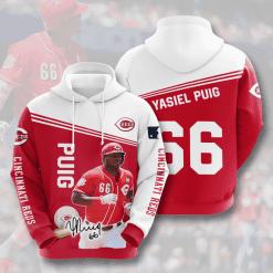 MLB Cincinnati Reds 3D Hoodie V6