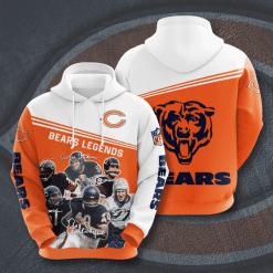 NFL Chicago Bears 3D Hoodie V6