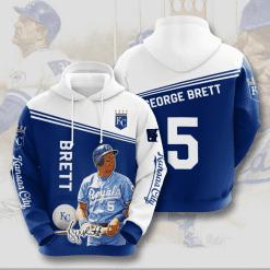MLB Kansas City Royals 3D Hoodie V6