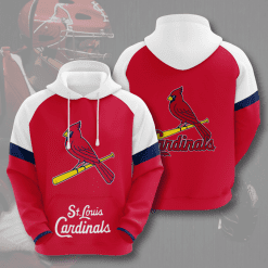 MLB St. Louis Cardinals 3D Hoodie V6