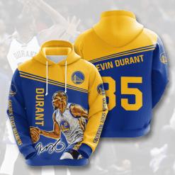 NBA Golden State Warriors 3D Hoodie V6