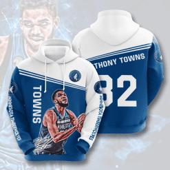 NBA Minnesota Timberwolves 3D Hoodie V6