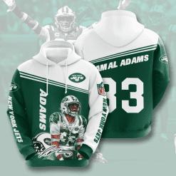 NFL New York Jets 3D Hoodie V7