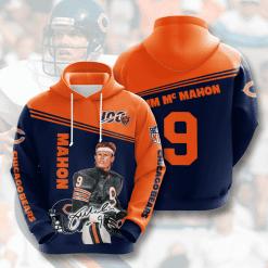 NFL Chicago Bears 3D Hoodie V7