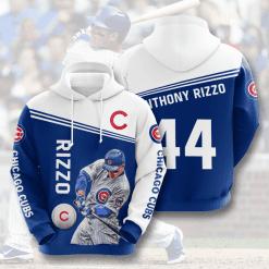 MLB Chicago Cubs 3D Hoodie V7