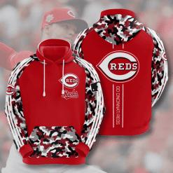 MLB Cincinnati Reds 3D Hoodie V7
