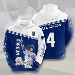 MLB Kansas City Royals 3D Hoodie V7