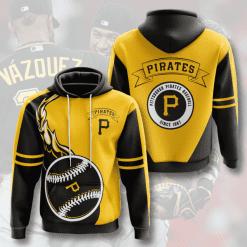 MLB Pittsburgh Pirates 3D Hoodie V7