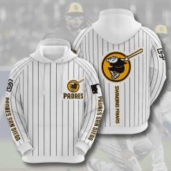 MLB San Diego Padres 3D Hoodie V7