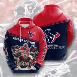 NFL Houston Texans 3D Hoodie V8