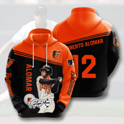 MLB Baltimore Orioles 3D Hoodie V8