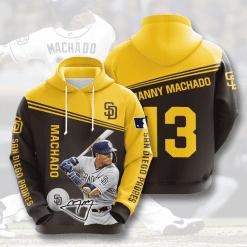 MLB San Diego Padres 3D Hoodie V8