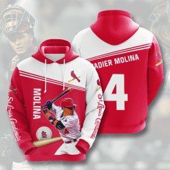 MLB St. Louis Cardinals 3D Hoodie V8
