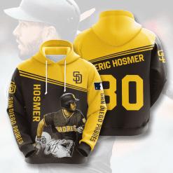 MLB San Diego Padres 3D Hoodie V9