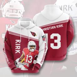 NFL Arizona Cardinals 3D Hoodie V10