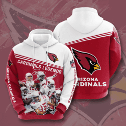 NFL Arizona Cardinals 3D Hoodie V12