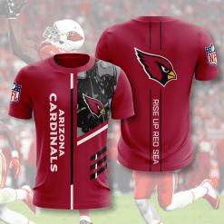 NFL Arizona Cardinals 3D T-Shirt V2
