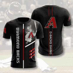 MLB Arizona Diamondbacks 3D T-Shirt V1