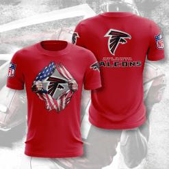 NFL Atlanta Falcons 3D T-Shirt V1