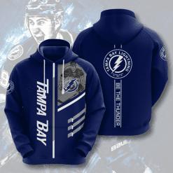 NHL Tampa Bay Lightning 3D Hoodie V1