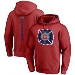 MLS Chicago Fire 3D Hoodie V4
