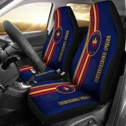 MLS Chicago Fire Pair of Car Seat Covers V2