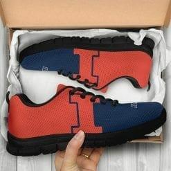 NCAA Illinois Fighting Illini Running Shoes V2