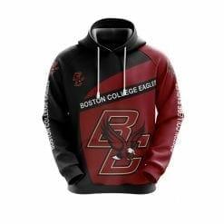 NCAA Boston College Eagles 3D Hoodie V1