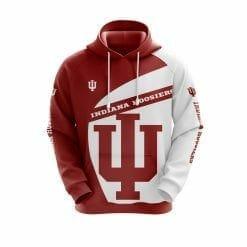 NCAA Indiana Hoosiers 3D Hoodie V1