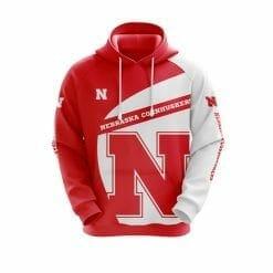NCAA Nebraska Cornhuskers 3D Hoodie V1