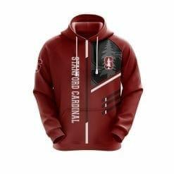 NCAA Stanford Cardinal 3D Hoodie V2