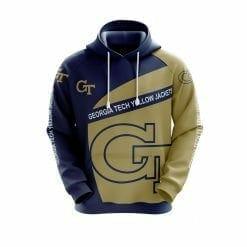 NCAA Georgia Tech Yellow Jackets 3D Hoodie V1