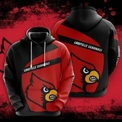 NCAA Louisville Cardinals 3D Hoodie V1