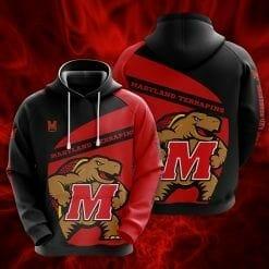 NCAA Maryland Terrapins 3D Hoodie V1