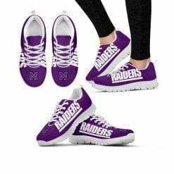 NCAA Mount Union Purple Raiders Running Shoes